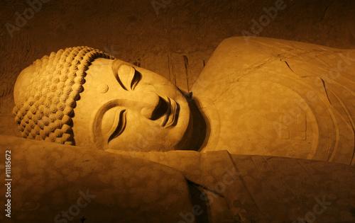 Tuinposter Boeddha reclining buddha
