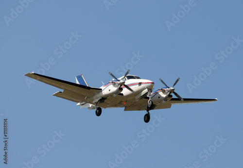 Photo  Propeller airplane