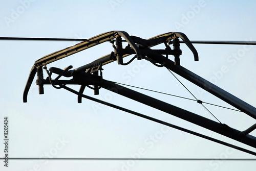 Fényképezés Stromabnehmer, Oberleitung