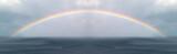Fototapeta Tęcza - Regenbogen überm Meer