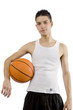 Latin Male with Basketball 1