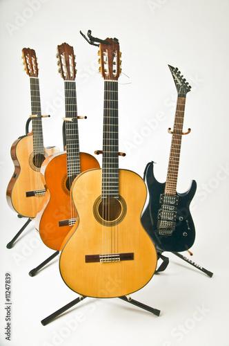 Spoed Foto op Canvas Muziekwinkel Guitarland