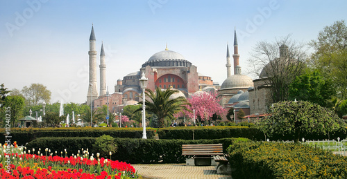 Photo  The Hagia Sophia in Istanbul, Turkey