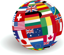 Global World Flags In VECTOR