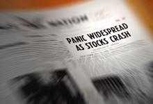 Stock Market Crash Headline