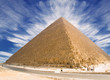 Great Pyramid of Cheops. Panoramic XXL