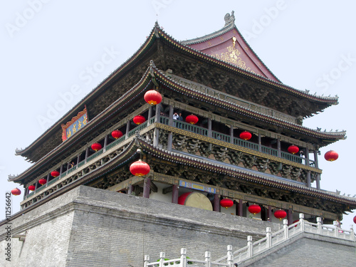 Papiers peints Xian Xian Bell Tower in China.