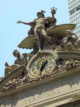 Grand Central Terminal Statues