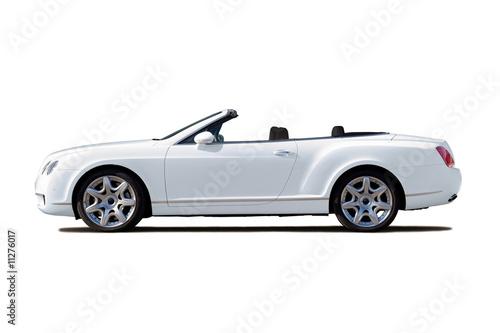 Fotografie, Tablou White cabriolet