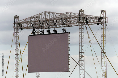 Recess Fitting Stadion Gigantic Outdoor Screen