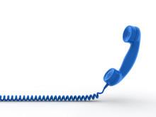 Retro Telephone Receiver. 3D G...