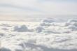 Leinwandbild Motiv über den wolken 2