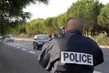 Police Radar Euro Laser Vitesse Controle  Flash