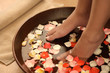 pedicure, spa & aromatherapy bowl