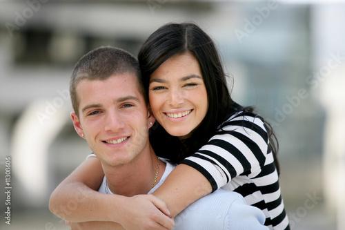 Photo Couple d'adolescents