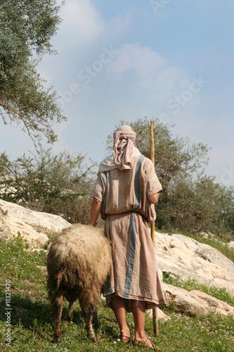Nazareth Shepherd Canvas Print