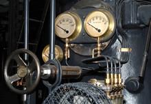 Old Steam Engine Detail