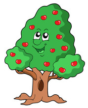 Cute Apple Tree