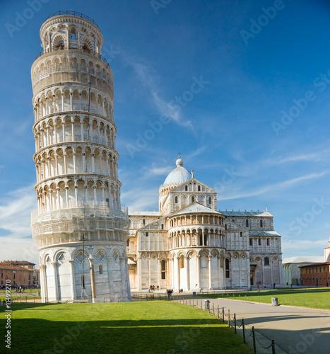 Foto-Vertikallamellen zum Austausch - Pisa, Piazza dei miracoli.