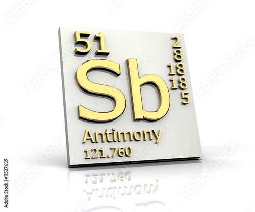 Antimony Form Periodic Table Of Elements Buy This Stock