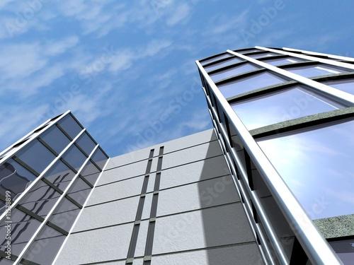 Fotografering  Immeuble administratif