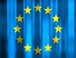 canvas print picture - eu flag