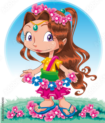 Poster Chambre d enfant Spring-Character