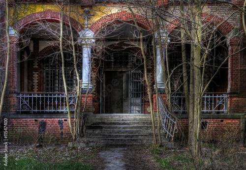 Photo sur Toile Ancien hôpital Beelitz Geisterhaus