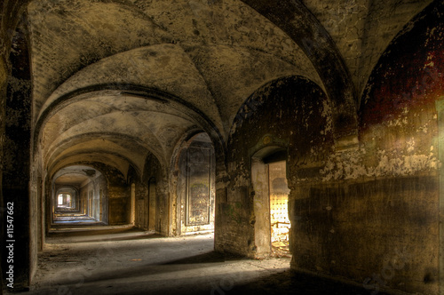 Canvas Prints Old Hospital Beelitz Beelitzer Kreuzgang