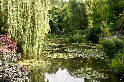 Foto  Gardens of Claude Monet in Giverny, France