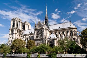 Panorama - Notre Dame de Paris, France