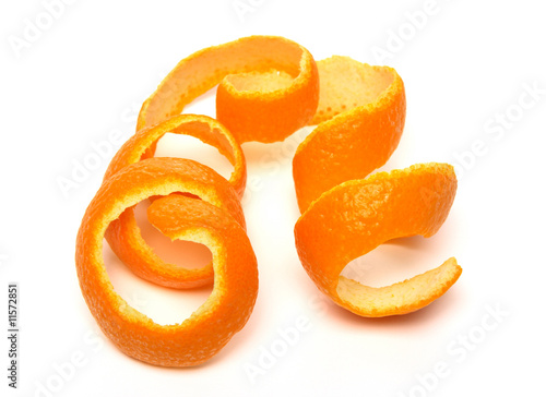 Fotomural Spiral orange peel
