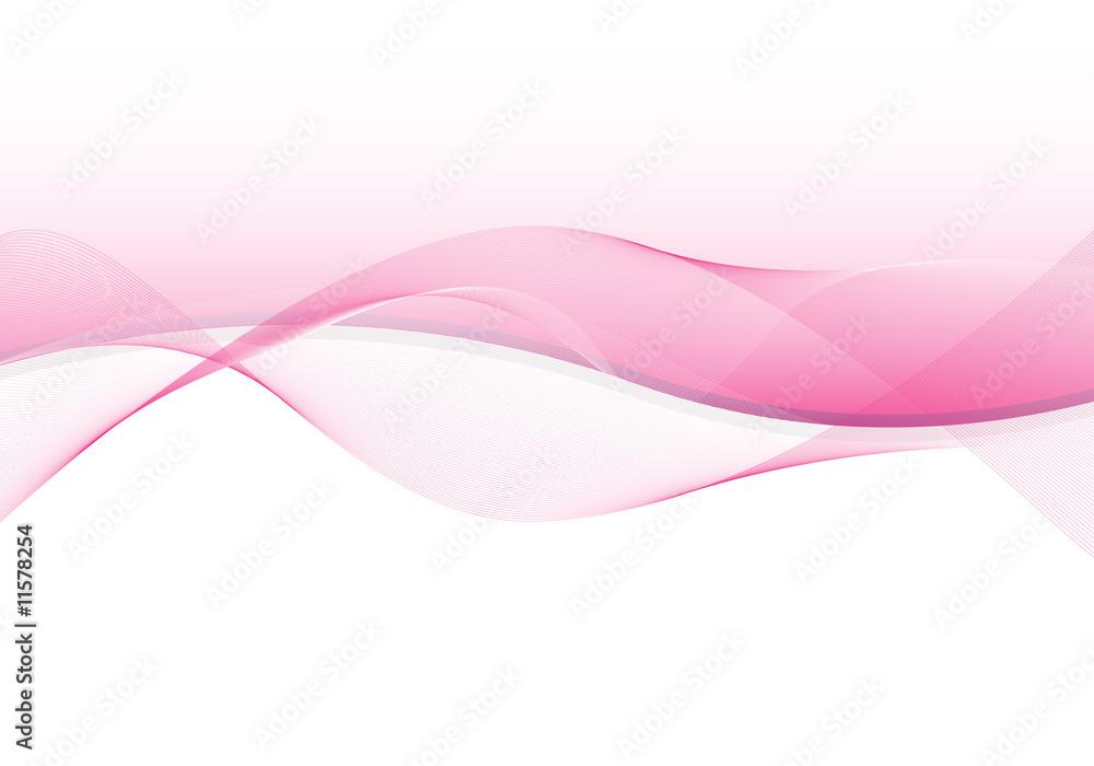 Fototapety, obrazy: Bild mit Illustration in rosa