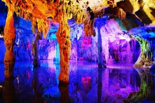 Water-eroded Reed Flute Cave