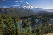 View Of Mount Rainier With A L...
