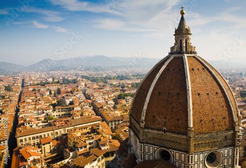 Fotografie, Obraz  Duomo and Florence