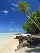 Landscape in Tuvalu