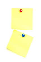 2 Post It Notes With Drawing P...