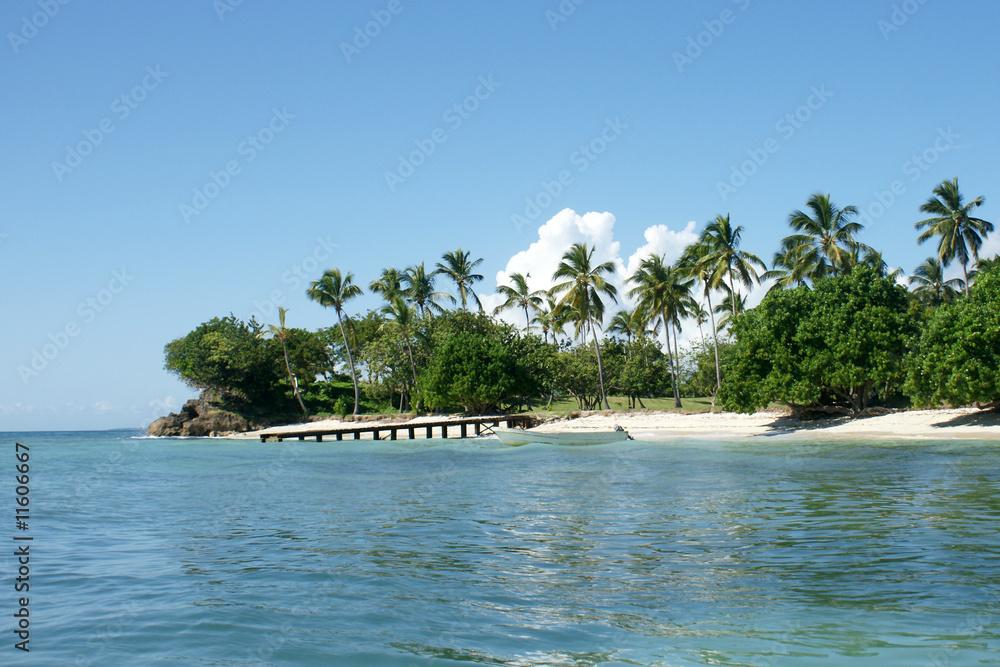 Bacardi Insel Dom Rep Karte.Cayo Levantado Bacardi Insel Foto Poster Wandbilder Bei Europosters