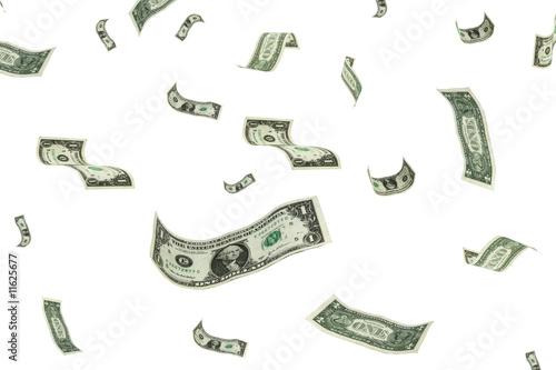 Fotografía raining money