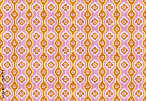 Retro Kitsch Wallpaper купить эту готовую фотографию и