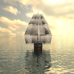 Fototapeta Do pokoju chłopca Sailing vessel