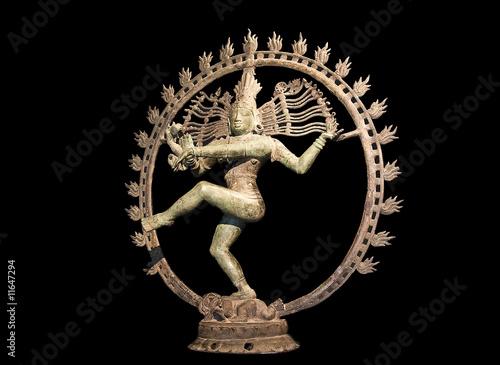 Fotografia Shiva dancing over maya demon