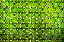 Green Bottles Background