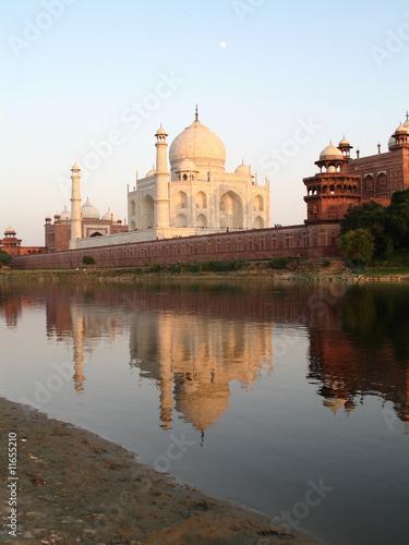 Foto op Plexiglas Artistiek mon. Taj Mahal