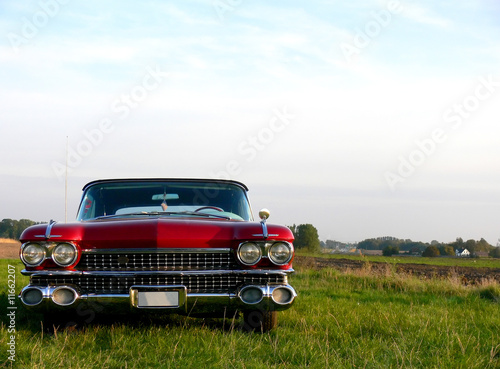 American Classic - Red Car
