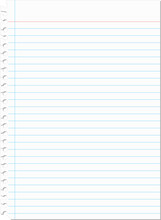 Torn Blank Notebook Paper