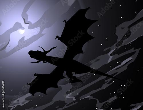 Poster Draken Drache 090127 02