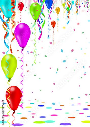 In de dag Carnaval Party, Fete, Karneval, Geburtstag - Einladungskarte