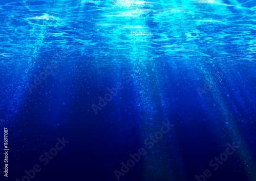 Fototapeta Surface of the sea obraz